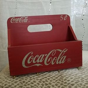 Coca-Cola Hanging box with hooks